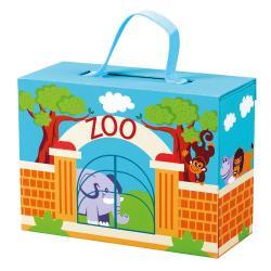 Cestovní kufřík se zvířáky - ZOO