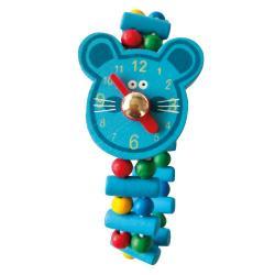 Dřevěné hodinky - Lev