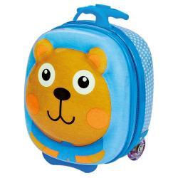 Kufřík s kolečky, medvěd