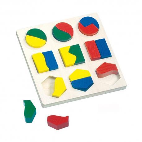Puzzle - geometrické tvary