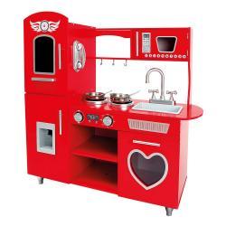 Kuchyňka červená