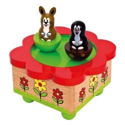 Hrací skříňka - Krtek