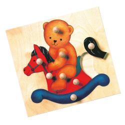Puzzle-medvěd-MAXI úchytky