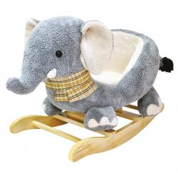 Houpací plyšový slon