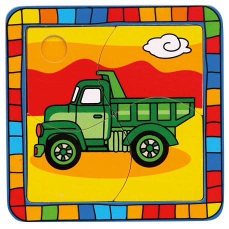 Puzzle náklaďák