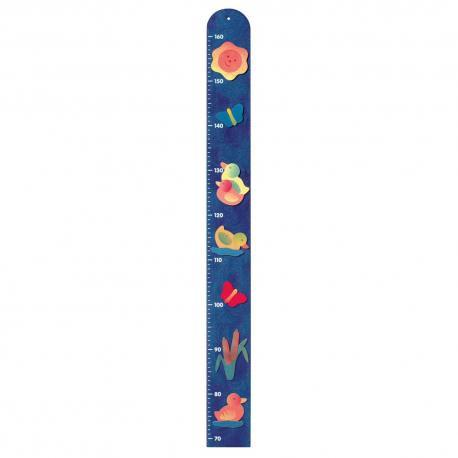 Metr - kachny - modrý
