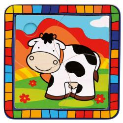 Puzzle kráva