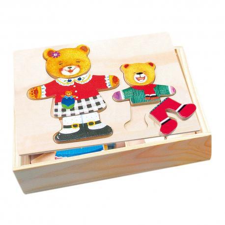 Šatní skříň-medvědice+medvídek