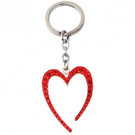 Přívěsek - srdce, červené