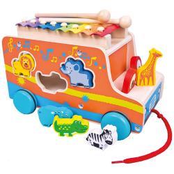 Auto vkládačka s xylofonem