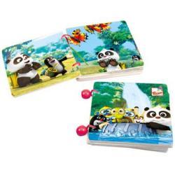 Krtek a Panda,knížka s příběh.